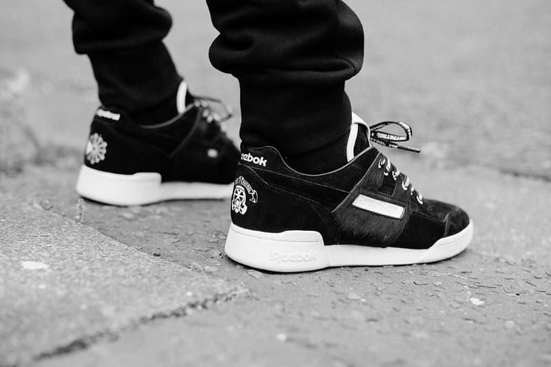 Footpatrol Reebok Workout Lo Plus Blackbuck