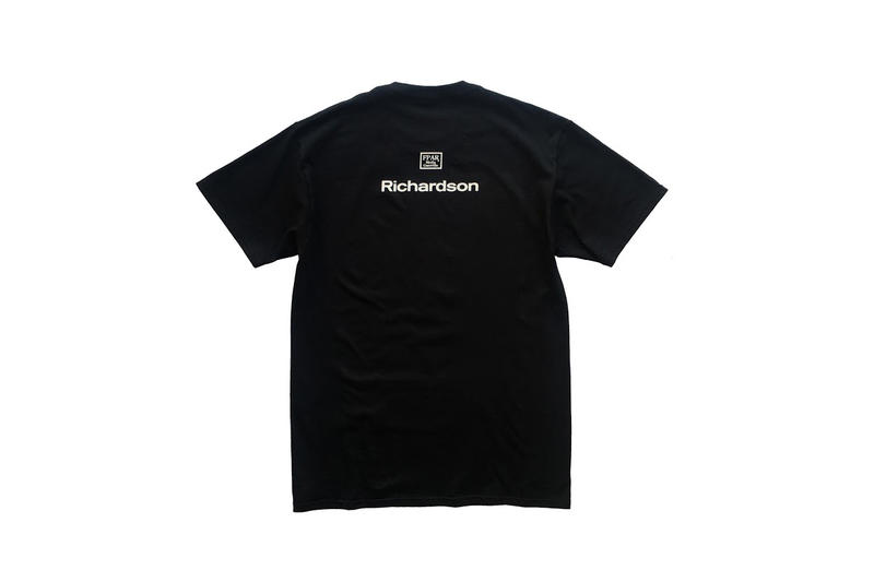 Richardson FORTY PERCENTS AGAINST RIGHTS Streetwear Fashion T-Shirt Collaboration Collection Capsule Clothing Apparel