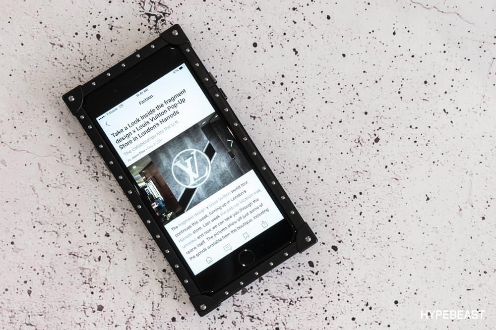 fragment design Louis Vuitton Collaboration iPhone 7 Case HYPEBEAST