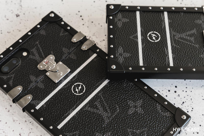 fragment design Louis Vuitton Collaboration iPhone Cases Back