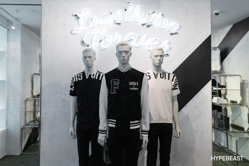 fragment design Louis Vuitton Collaboration Mannequins