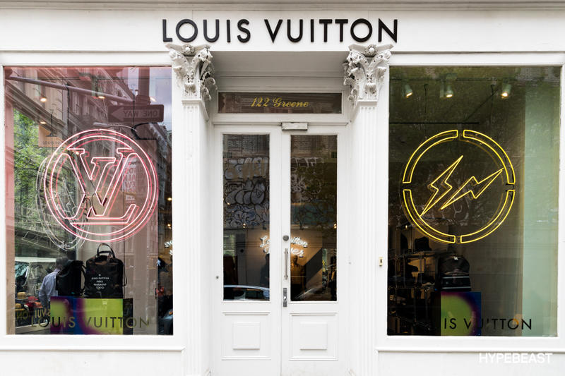 fragment design Louis Vuitton Collaboration Store