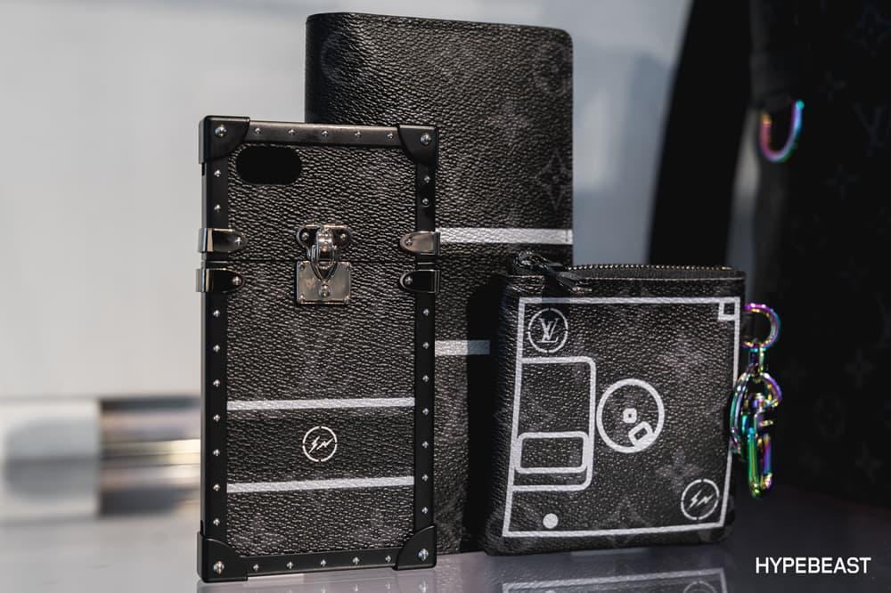 fragment design Louis Vuitton Collaboration Phone Cases Pouch