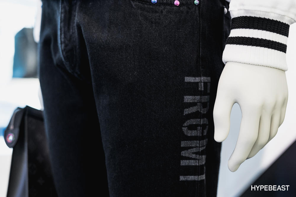 fragment design Louis Vuitton Collaboration Jeans