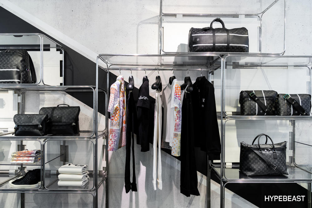 fragment design Louis Vuitton Collaboration Clothing