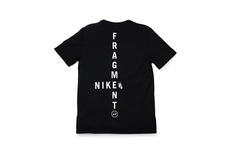 d958f2459e5e fragment design Hiroshi Fujiwara Nike T-Shirt Collaboration Apparel  Clothing Fashion Streetwear