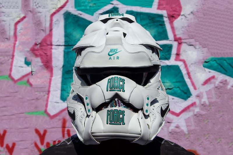Freehand Profit's Nike Force Stormtrooper Helmet