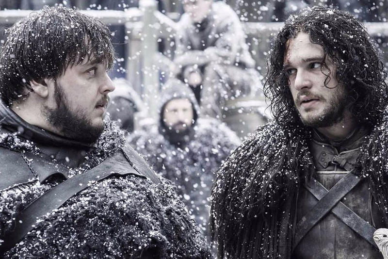 game of thrones jon snow samwell series end hbo