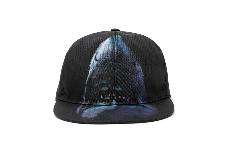 Givenchy Shark Motif T-shirt Cap Backpack Clare Waight Keller MR PORTER