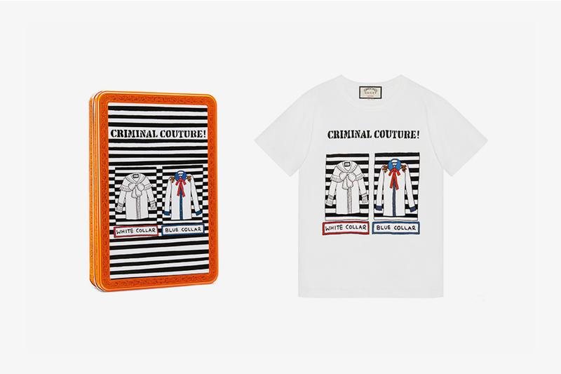 Gucci and British Artist Angelica Hicks Collaborate on 11 Limited Edition T-Shirts