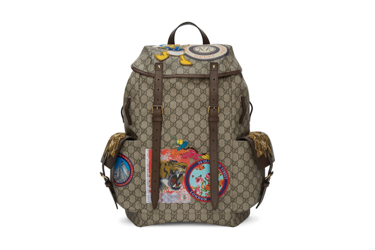 f5adb4426649 Here s the Perfect Backpack for the Gucci and Donald Duck Fan