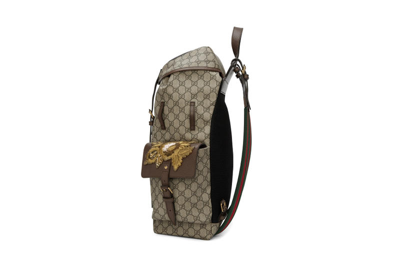 a98f0c535e9 Gucci gg supreme donald duck monogram backpack