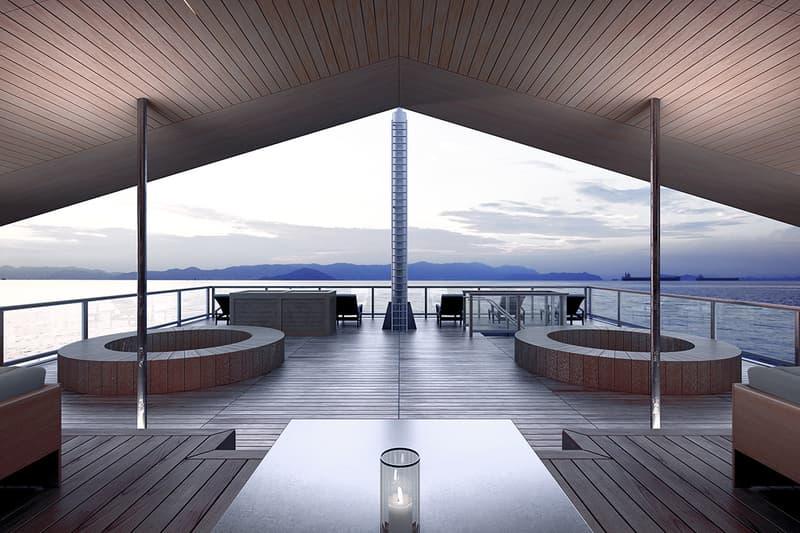 Guntu Floating Hotel Japan Vacation Getaway Retreat