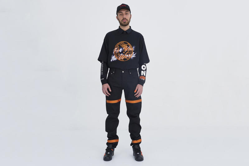 Heron Preston 2017 Fall/Winter Collection For You The World Fashion Luxury Apparel Clothing Accessories Bags Streetwear
