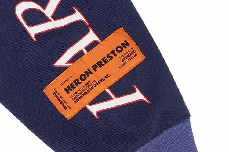Heron Preston For You The World Tour Tee