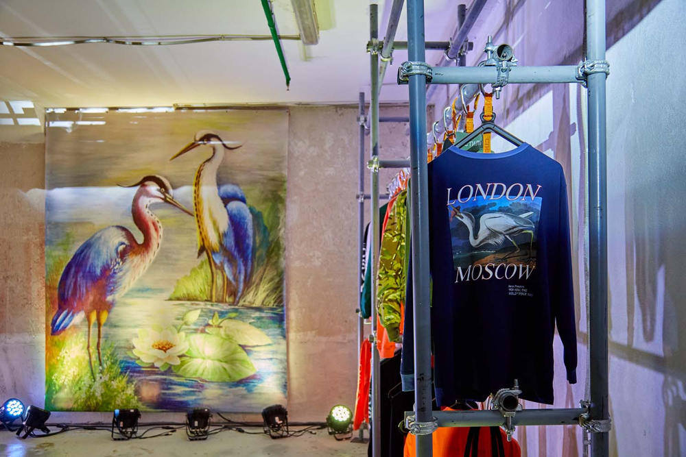 Inside Heron Preston's Pop-Up At Moscow's KM20