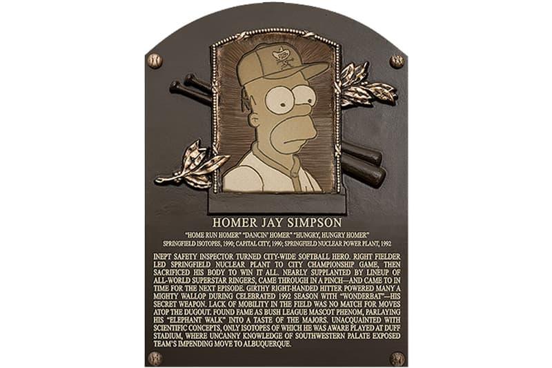 Homer Simpson Baseball Hall of Fame