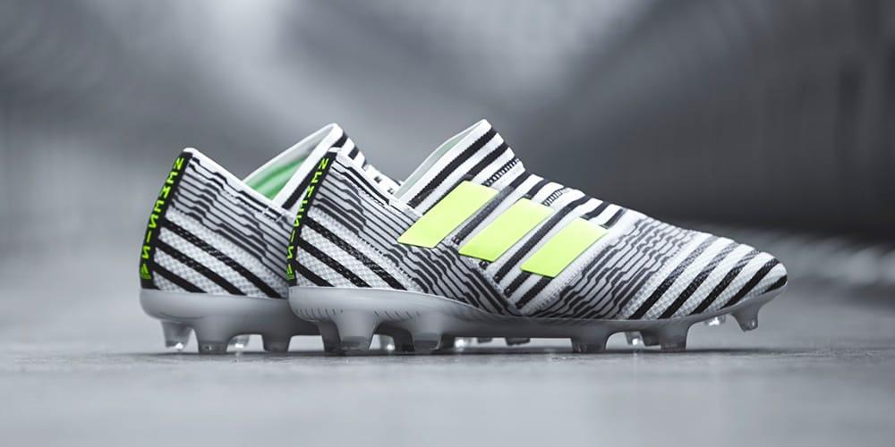 Lionel Messi Debuts adidas Zebra