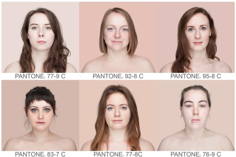 Human Pantone Project