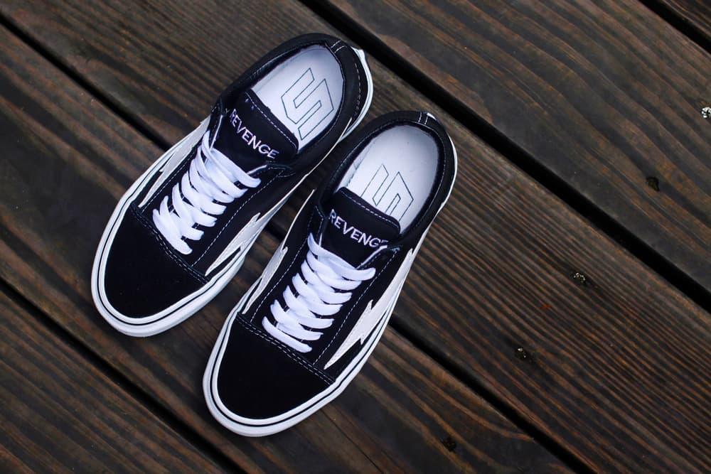 Ian Connor Revenge Storm Shoe Blue White