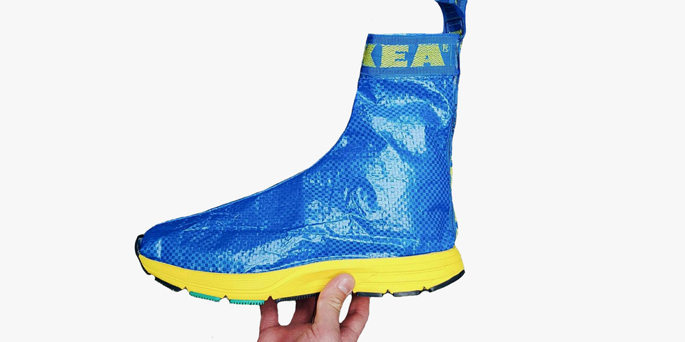 a312c6014cd IKEA FRAKTA Bag Balenciaga Speed Trainer Sneaker