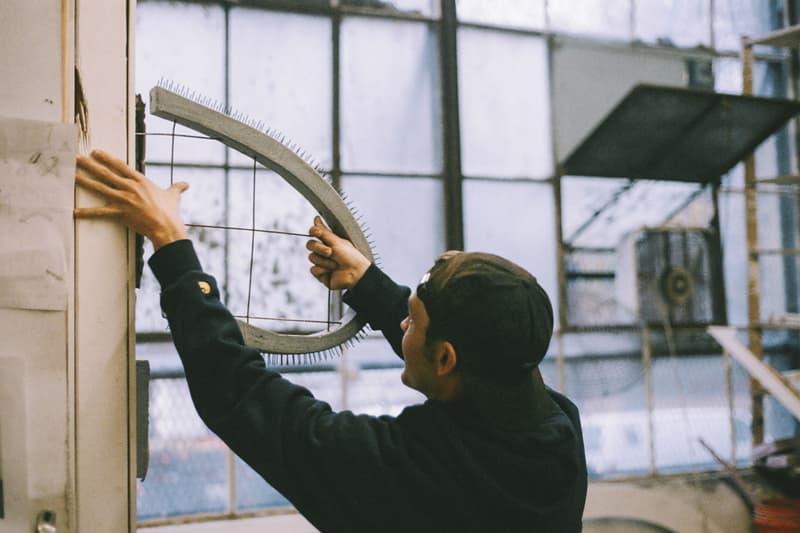 "Carhartt WIP Max Palmer ""Improper Slope"" Exhibit Artwork Sculptures"