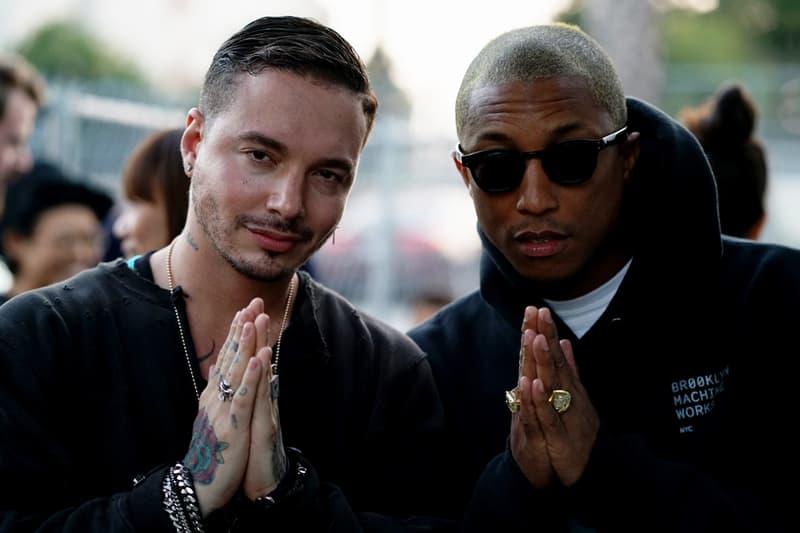 J Balvin Pharrell Williams Unreleased adidas NMD Human Race White Video