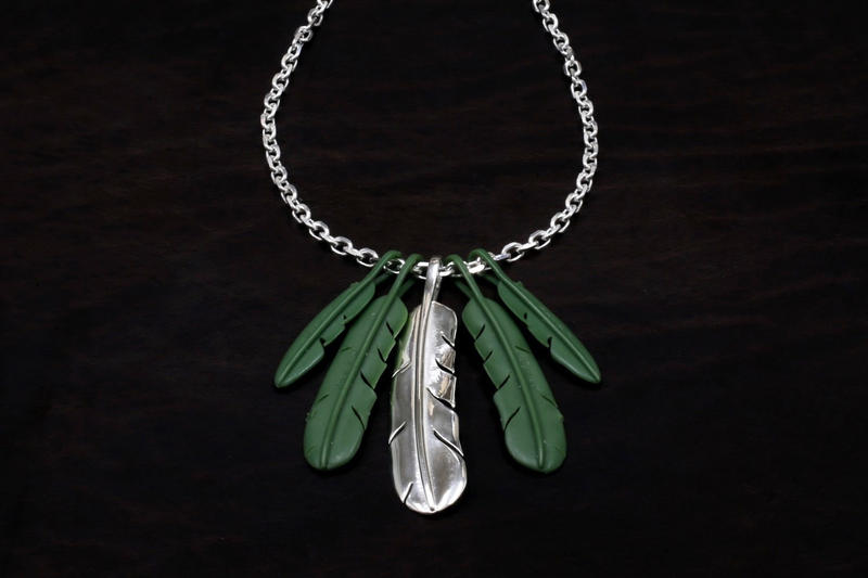 JAM HOME MADE NAKED FEATHER Jewellery Chains
