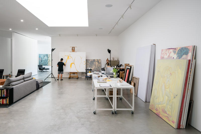 James Jean Hide Out Live-Work Space Architecture Design