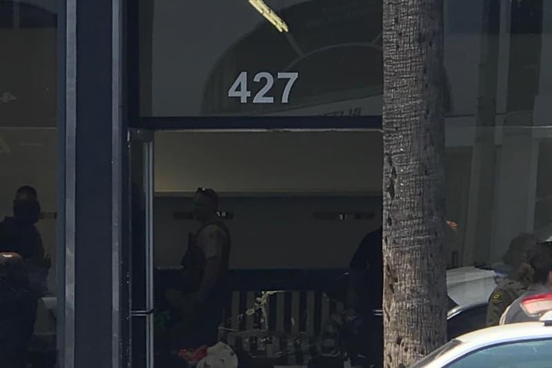 Jerry Lorenzo Raided Fairfax Store Mnml Bootlegs