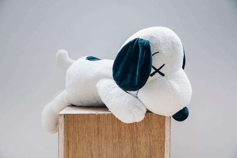 KAWS Peanuts Uniqlo UT Restock Snoopy Plush Toy