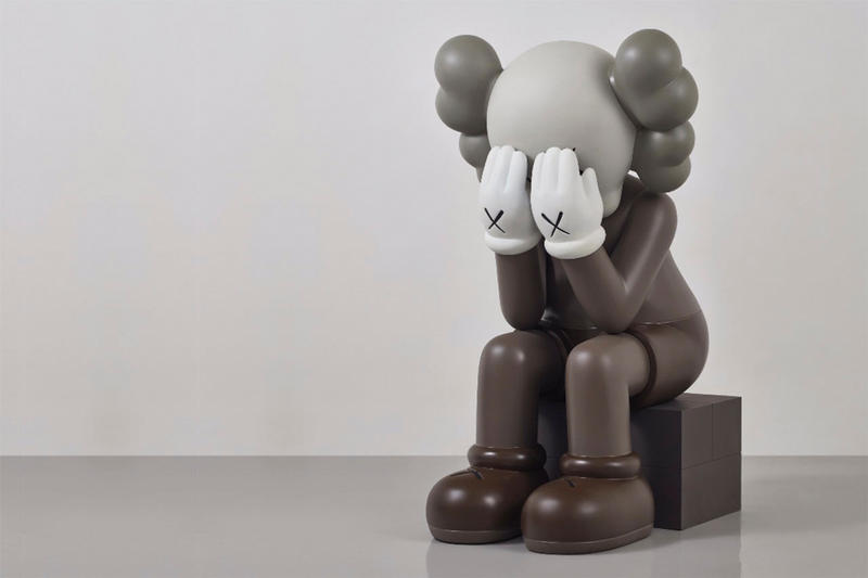 KAWS Seated Companion $400,000 USD Auction Hong Kong Phillips Auction House