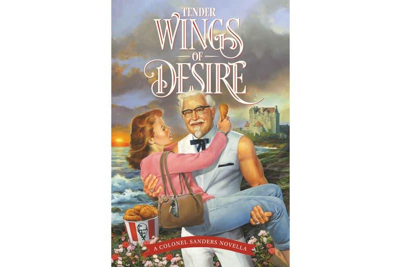 KFC Colonel Sanders Romance Novel for Mother's Day