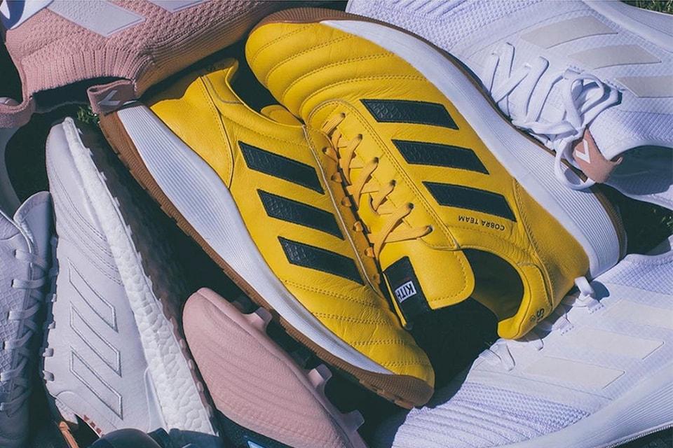 sneakers for cheap 932fe 7d409 KITH x adidas Football Footwear Teaser  HYPEBEAST