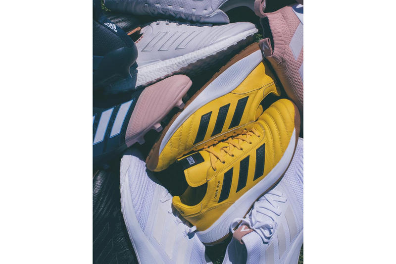 newest fdd86 fecbc KITH x adidas Football Footwear Collection. 1 of 2