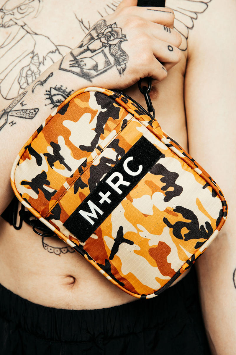 M+RC NOIR 2017 Spring Jackets Vests Sling Bags Shorts Orange Red Green Camo