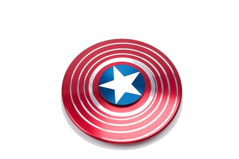 Marvel Fidget Spinners Colette Captain America Iron Man