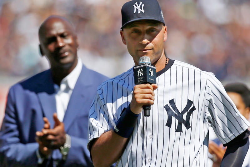 Michael Jordan Derek Jeter The Players' Tribune Letter Sports Athletes Retirement
