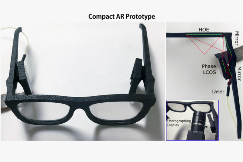 Microsoft Research Holographic AR VR Glasses