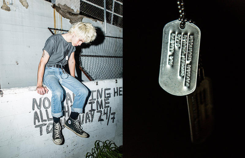 MIDNIGHT STUDIOS 2017 Spring Summer Safety Pin Campaign