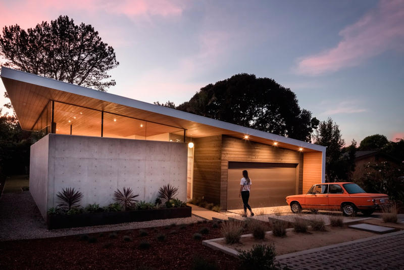Los Angeles' Avocado Acres House Inspired by Modernist Architecture