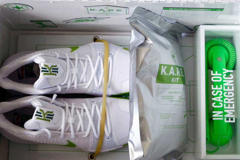 Mountain Dew Nike Kyrie 3 KARE Package