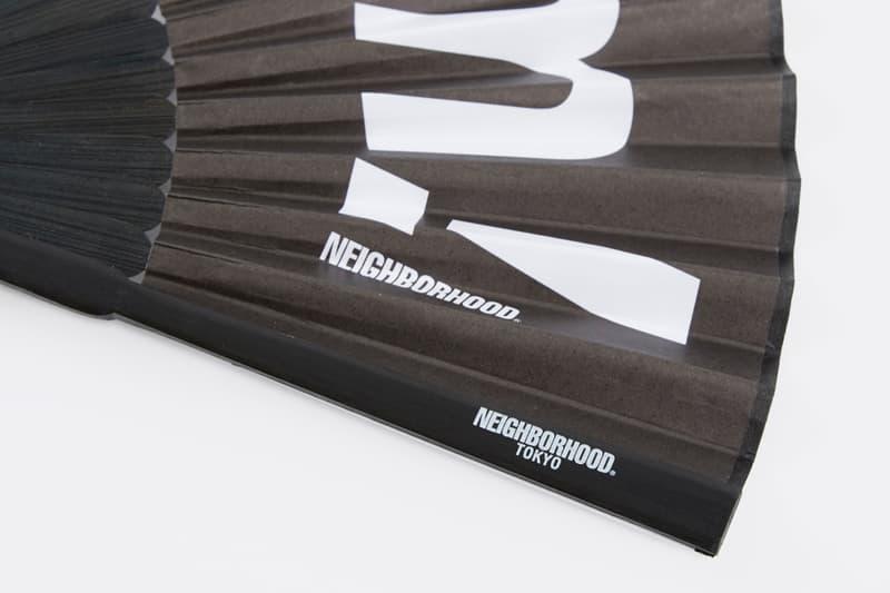 NEIGHBORHOOD Fuck 'Em Bamboo Fan