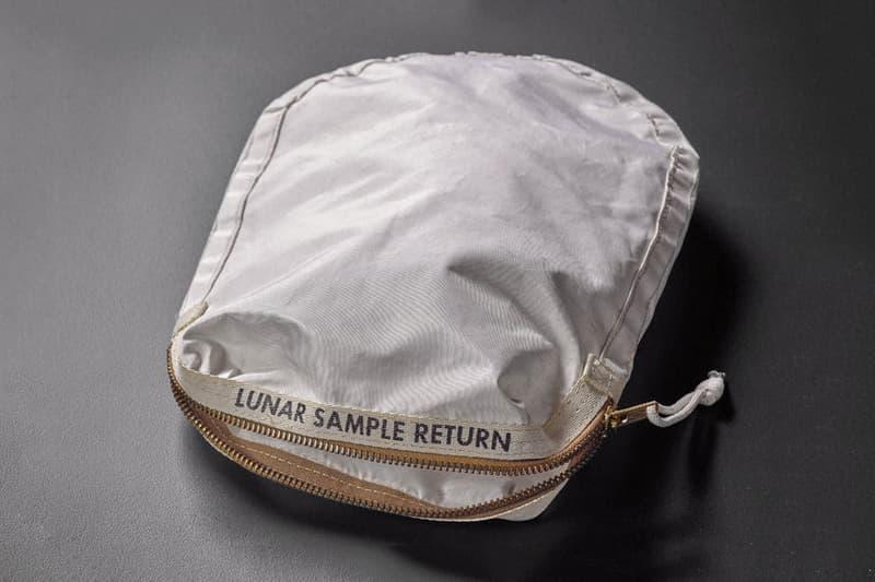USA Moon Bag $4 Million at Sotheby's Auction Neil Armstrong Buzz Aldridge NASA Apollo 11