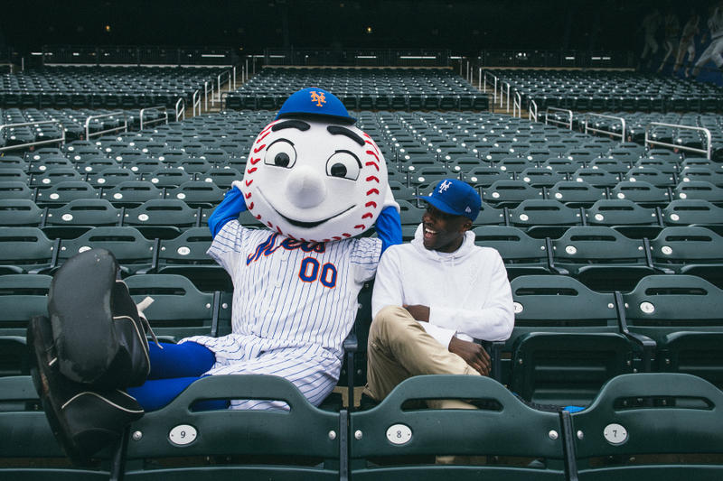 Nigel Sylvester new york Mets New Era Snapbacks hats caps stadium bmx bike bicycle citi field go nike baseball mlb