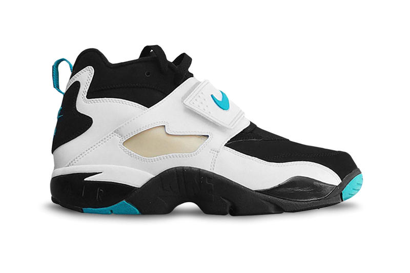 4339fa3c72 Nike Air Diamond Turf Emerald Colorway Deion Sanders Shoes Sneakers Release