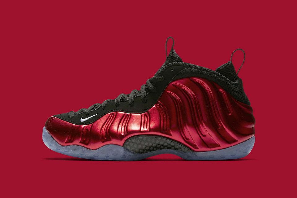 cb3bd403061 Nike s Metallic Red Foamposites Return Next Week