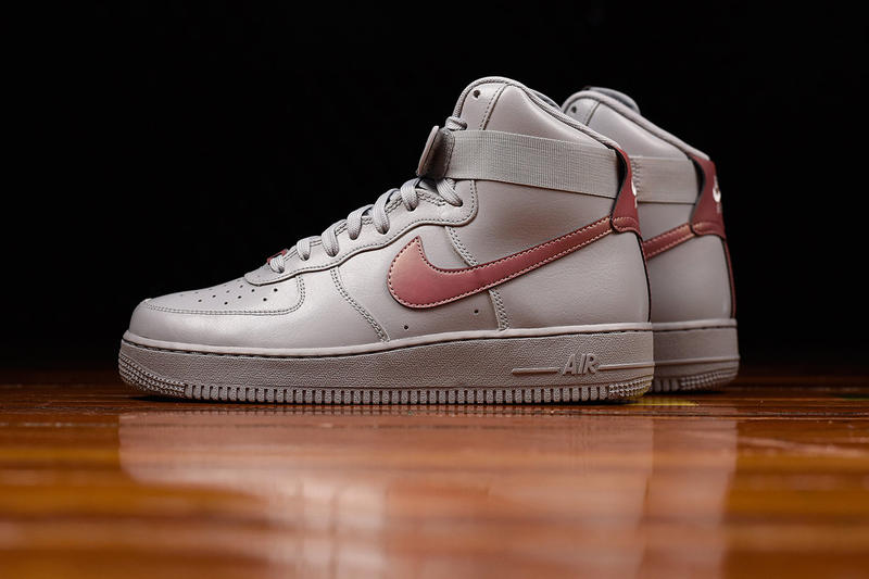buy popular 93f6c 4732f Nike s Air Force 1 High Receives A
