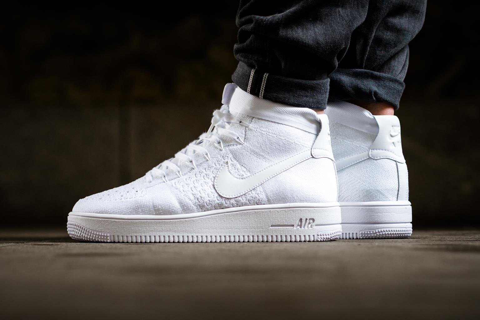 9eef3b9f2c8c2 air force 1 triple white Shop Nike Air Force 1 shoes at Foot ...