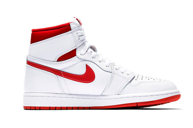 Nike Air Jordan 1 Metallic Red